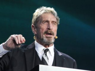 John McAfee Accuses Binance of Covering Up Hack
