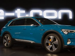 Audi Takes on Tesla with New All-Electric E-tron SUV