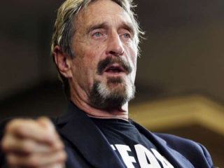 Presidential Candidate John McAfee Flees U.S. for Alleged Tax Fraud - Bitcoin News