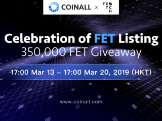 PR: CoinAll Lists Fetch.AI and Offers a 350,000 FET Giveaway - Bitcoin News