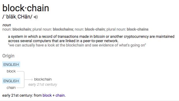 Google, blockchain