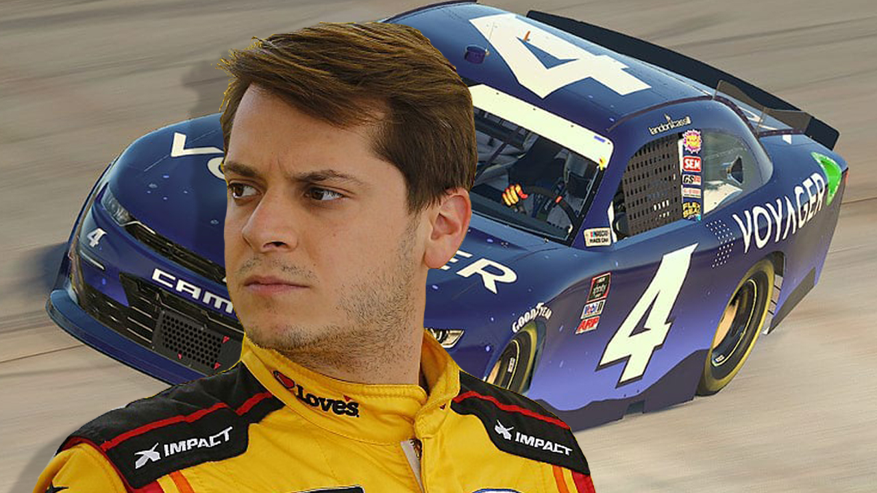 NASCAR Driver Landon Cassill to Be Paid in Cryptocurrency for the Remainder of the Season